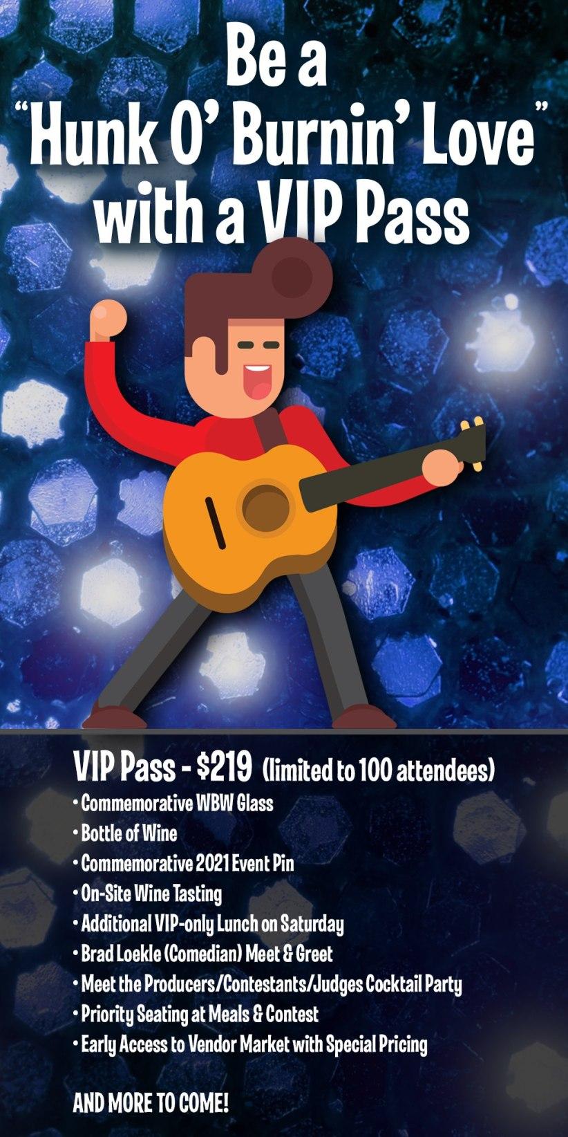 2021 VIP PASS INFO
